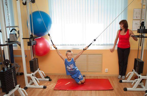 Кинезотерапия при детском церебральном параличе